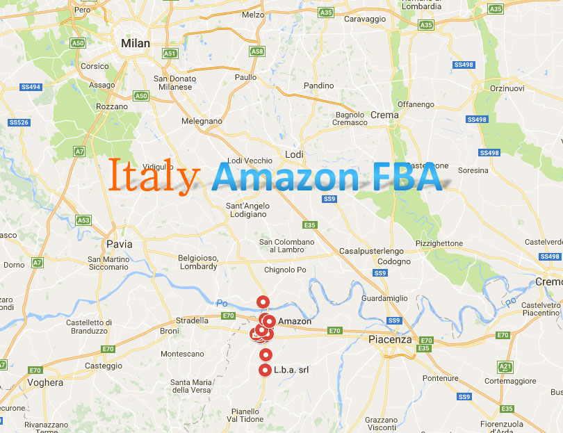 Shipping To The Italy FBA Services
